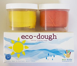 "Eco-Kids Eco-Dough 2 Pack ""Sun"""