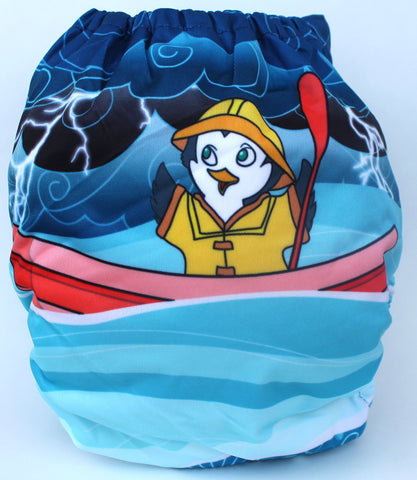 "Fluffy Penguin Pocket ""The Flood"""