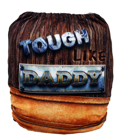 "Fluffy Penguin Pocket ""Tough Like Daddy"""