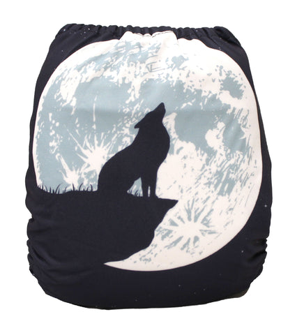 "Fluffy Penguin Pocket ""Wolf Moon"""