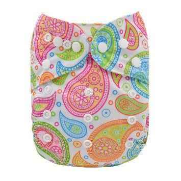 "Alva Pocket ""Girly Paisley"""