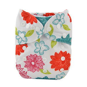 "Alva Pocket ""Bright Flowers"""