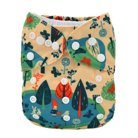 "Limited Edition - Pocket Diaper ""Woodland"""