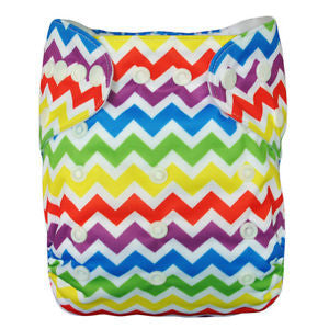 "Alva Cover ""Rainbow Chevron"""