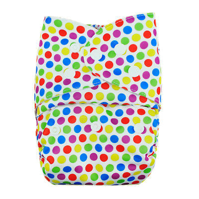 "Alva Pocket ""Rainbow Dots"""