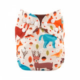 "Alva Pocket  ""Deer And Bear"""