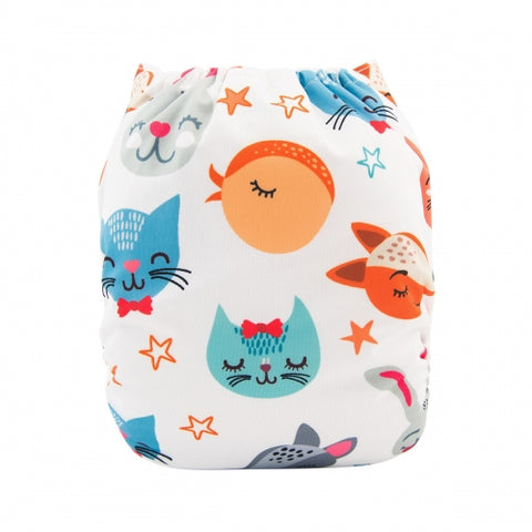 "Alva Pocket  ""Smiling Animals"""