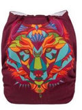 "Alva Pocket  ""Colorful Animal Face"""