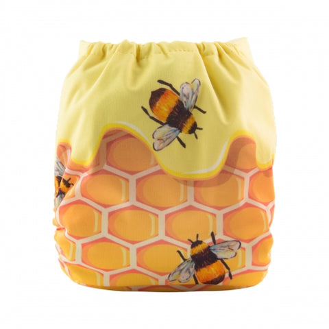 "Alva Pocket  ""Honeycomb Bees"""