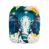 "Alva Pocket  ""Painted Elephant"""