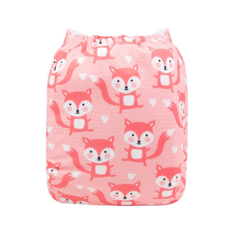 "Alva Pocket  ""Pink Foxes"""