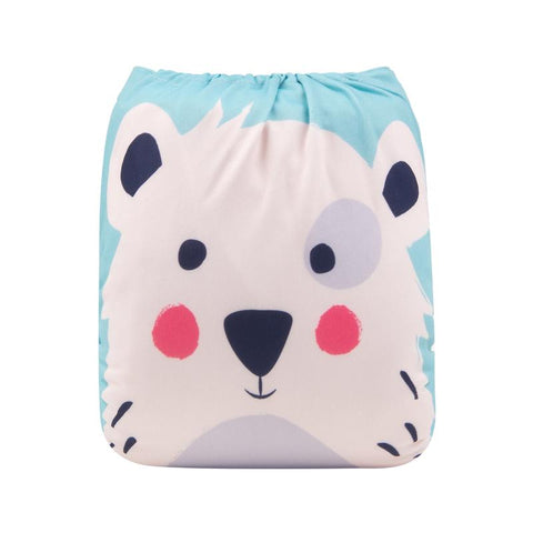 "Alva Pocket ""Polar Bear Face"""