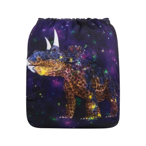 "Alva Pocket ""Galaxy Dinosaur"""