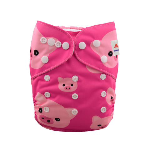 "Alva Pocket ""Pink Piggy"""