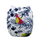 "Alva Pocket ""Winter Birds"""