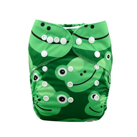 "Alva Pocket ""Green Frogs"""