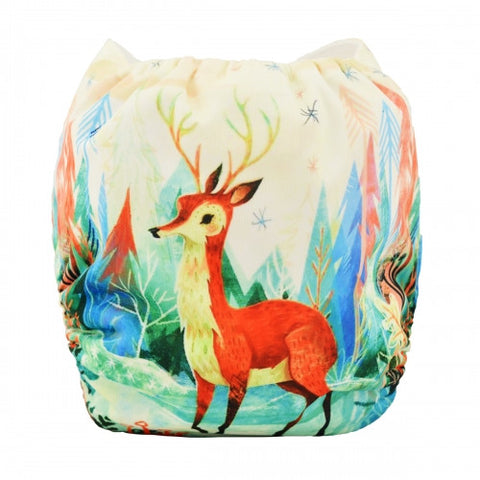 "Alva Pocket ""Forest Deer"""