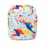 "Alva Pocket ""Colorful Deer"""