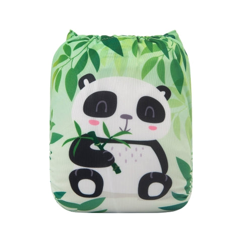 "Alva Pocket ""Sitting Panda"""
