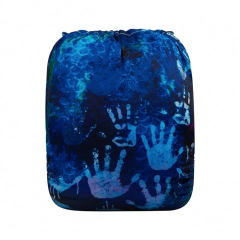 "Alva Pocket ""Indigo Handprints"""