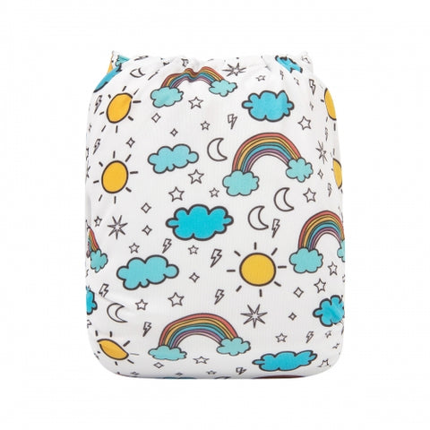 "Alva Pocket ""Rainbow Weather"""