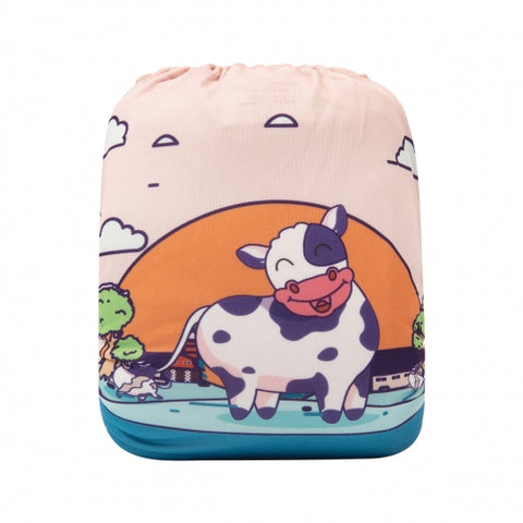 "Alva Pocket ""Cow Sunrise"""