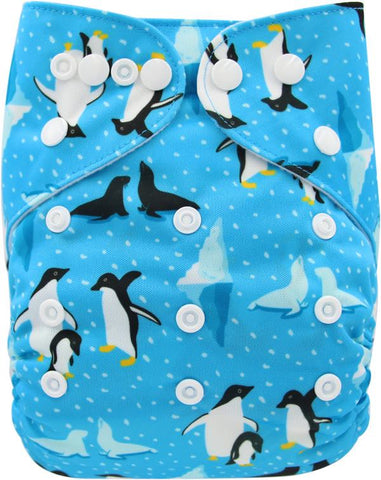 "YiFashion Pocket  ""Penguins and Seals"""