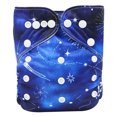 "YiFashion Pocket  ""Comets and Stars"""