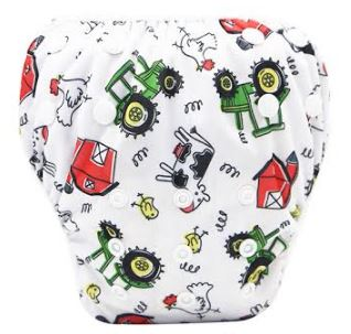 "YiFashion Swim Diaper ""Farm"""
