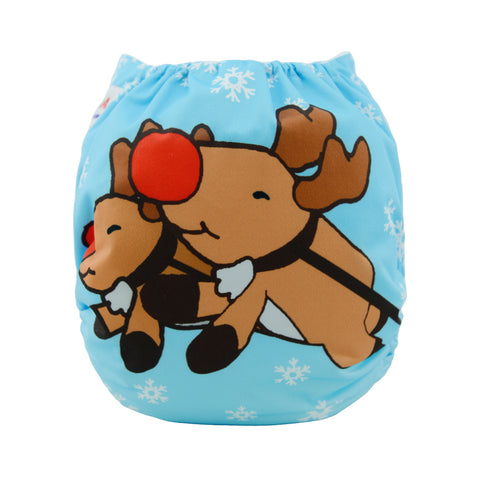 "Alva Pocket ""Christmas Reindeer"""