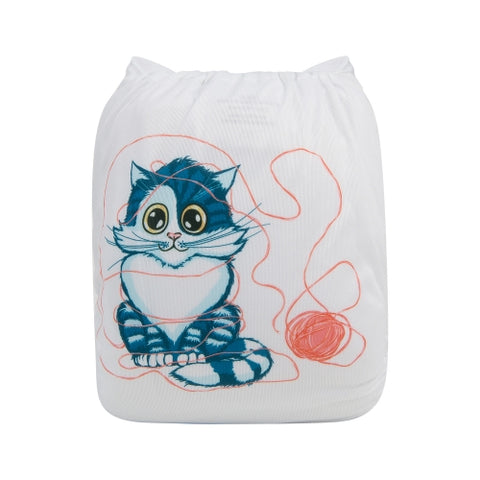 "Alva Pocket ""Playful Kitty"""
