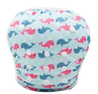 "YiFashion Swim Diaper ""Whales"""