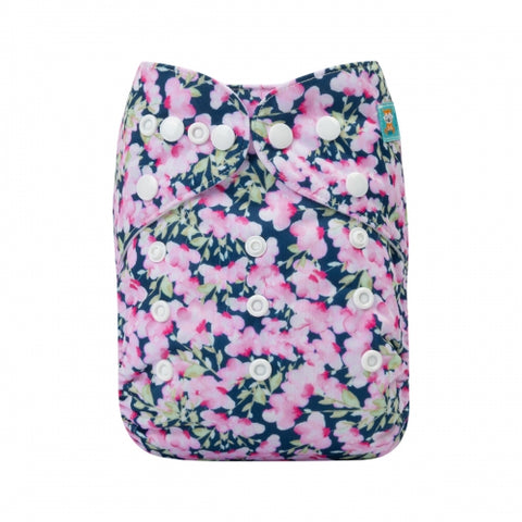 "Alva Pocket ""Blush Floral"""