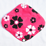 "Cloth Pad Bamboo 8"" Liner ""Flowers on Pink"""