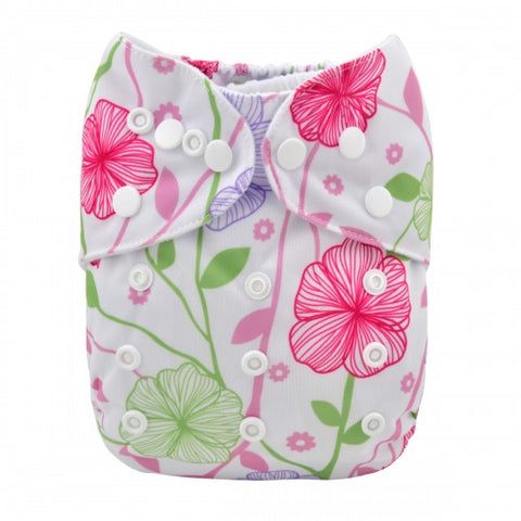"Alva Pocket ""Pastel Flowers"""