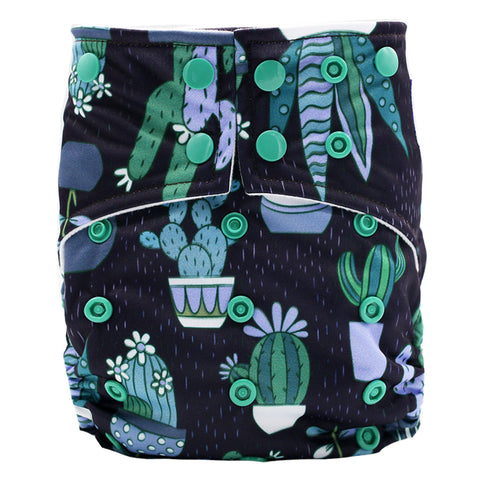 "Happy Flute Pocket ""Dark Cactus"""