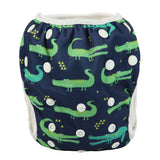 "Sigzagor Swim Diaper ""Alligators"""