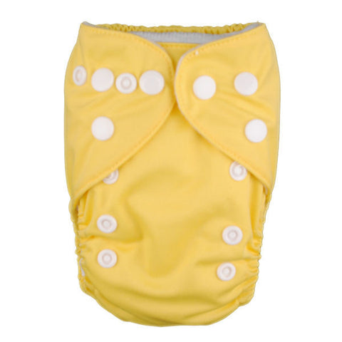 "Alva Newborn Snap Pocket ""Pastel Yellow"""