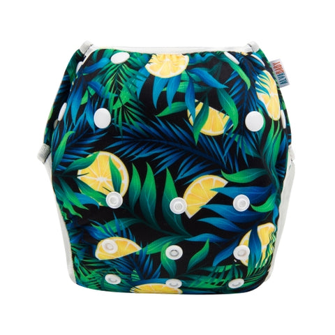 "Alva Swim Diaper ""Jungle Lemons"""