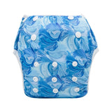 "Alva Swim Diaper ""Blue Flow"""