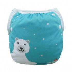 "Alva Swim Diaper ""Polar Bear"""