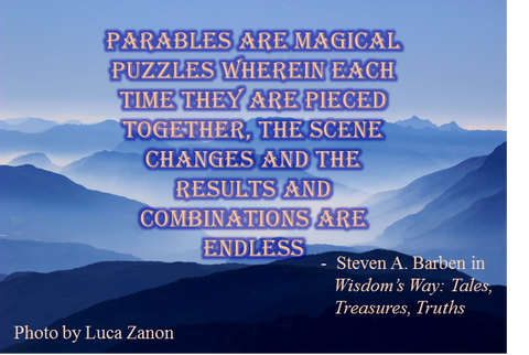 Parables are magical puzzles