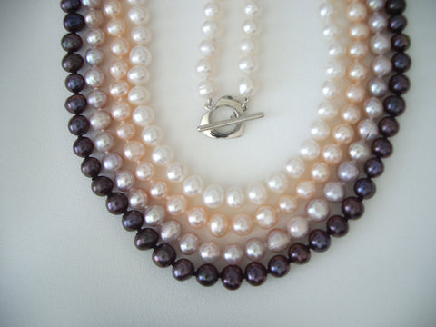 Pearl Jewelry - CULTURED FRESHWATER PEARL NECKLACE