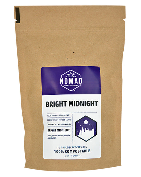 Compostable Bright Midnight Single-Serve