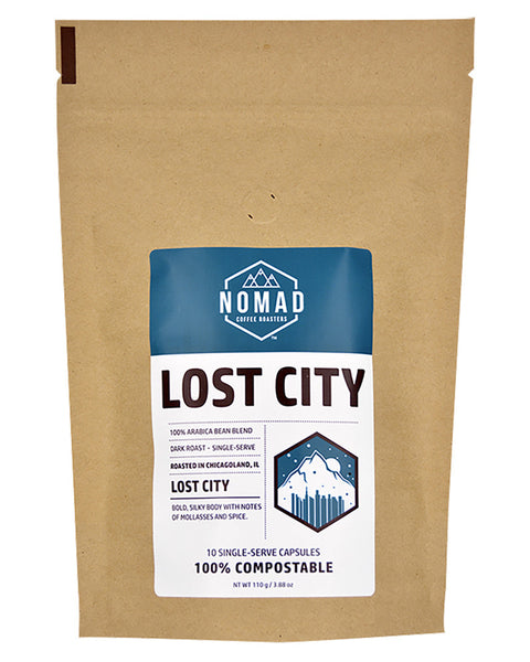 Compostable Lost City Single-Serve