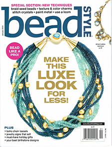 SWCreations as seen in BeadStyle Magazine January 2016