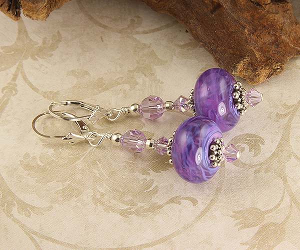 A History of the Color Purple - Jewelry & Lampwork Beads