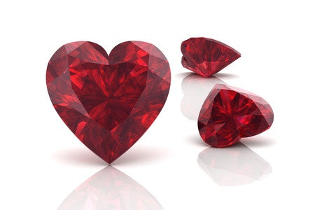 July Birthstone Jewelry - Ruby Gemstones - Love and Passion