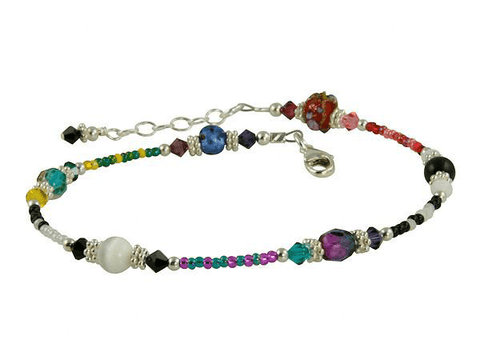 unique beaded anklets