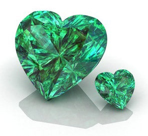 emerald heart gemstone